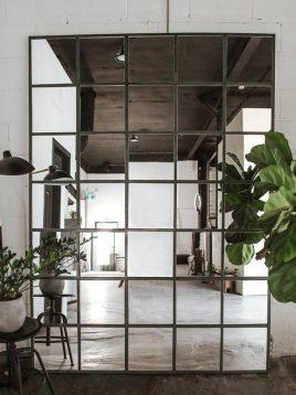 آینه ساده طرح مربع ایران گلسکو مدل فینسترا