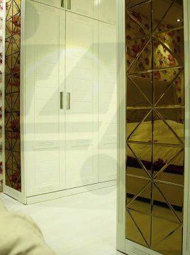 آینه تراشدار طرح مثلثی ایران گلسکو