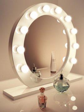 آینه میکاپ گرد ایران گلسکو