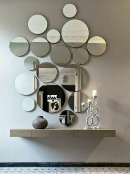 آینه ساده طرح دایره ایران گلسکو مدل بولا
