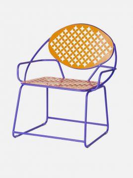 صندلی فلزی نهالسان مدل پاندا