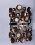 چراغ دیواری ثابت مدرن مدل عدسی ژرفا