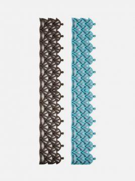 کفپوش تایل پازلی فضای باز بابل مدل چتری