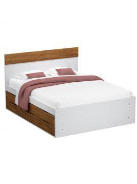 تخت دو نفره کشودار نومنزی مدل سیدا s111