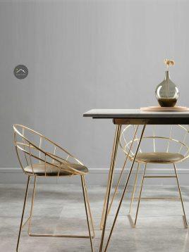 صندلی فلزی ناهارخوری سان هوم مدل W1901