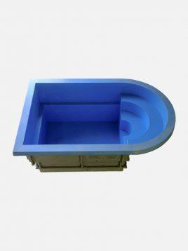 استخر پیش ساخته آب درمانی زرفام ۴۰۰۰ لیتری