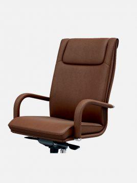 صندلی مدیریتی اروند با روکش چرم یا پارچه مدل ۱۸۱۴