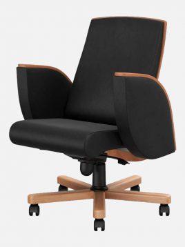 صندلی مدیریتی اروند با روکش چرم یا پارچه مدل ۲۹۱۲