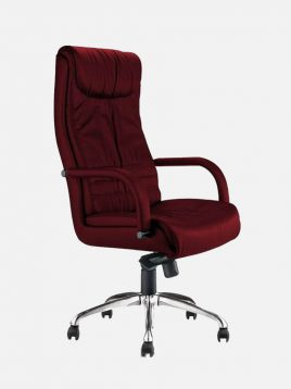 صندلی مدیریتی اروند با روکش چرم یا پارچه مدل ۳۳۱۶