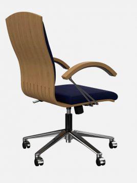 صندلی مدیریتی اروند با روکش چرم یا پارچه مدل ۳۴۱۶