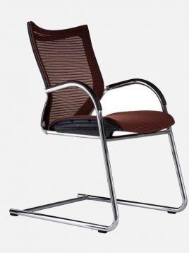 صندلی کنفرانسی اروند با پایه ثابت و پشت توری مدل ۵۵۱۰