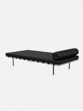 تخت چرمی یکنفره اروند مدل بارسلونا