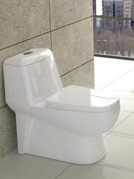 توالت فرنگی  گلسار مدل پارمیس سه اینچ