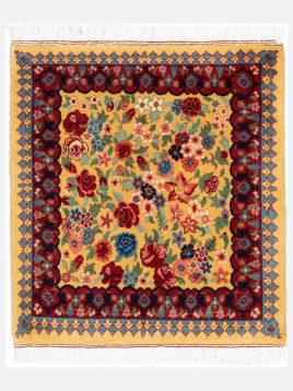heidarian carpet bakhtiyari nobaft carpet hezargol B model1 268x358 - قالی بختیاری نوبافت حیدریان مدل هزارگل زمینه زرد