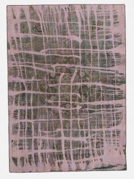 قالی اورداید حیدریان مدل مدرن زمینه سبز