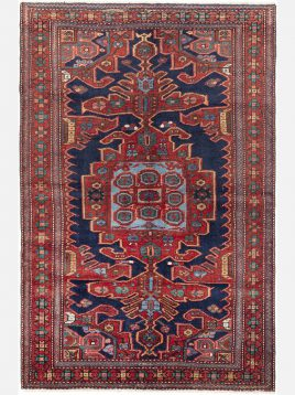 heidariancarpet azarbayejan vintej carpet toranj model1 268x358 - قالی آذربایجان وینتج حیدریان مدل ترنج