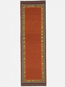 heidariancarpet rugs shoma model3 268x358 - گلیم فرش سوزنی حیدریان مدل شما زمینه نارنجی