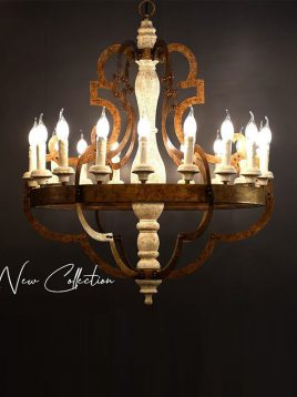 voodoohome candle style chandeliers model VL2180 1 268x358 - لوستر شمعی وودوهوم مدل VL2180