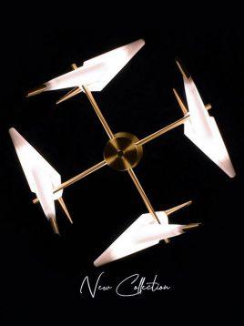 چراغ آویز دکوری وودوهوم مدل VL21984