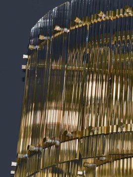 لوستر دروم دو طبقه وودوهوم مدل VL2210