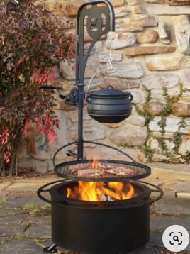 parsi industrial group firepit Pulley 316 model1 268x358 - آتشدان هیزمی مدل قرقره دار کد ۳۱۶