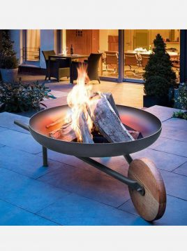 parsi industrial group firepit Pulley 317 model1 268x358 - آتشدان هیزمی مدل فرقونی کد ۳۱۷