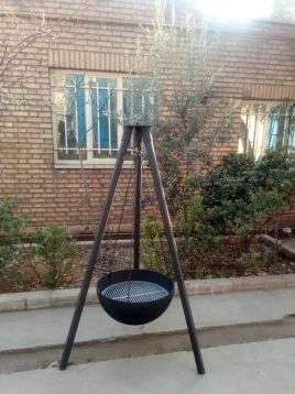 آتشدان هیزمی مدل  آویز کد ۳۱۳