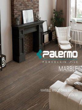 سرامیک پالرمو ۸۰ در ۱۲۰ مدل ماربل وود