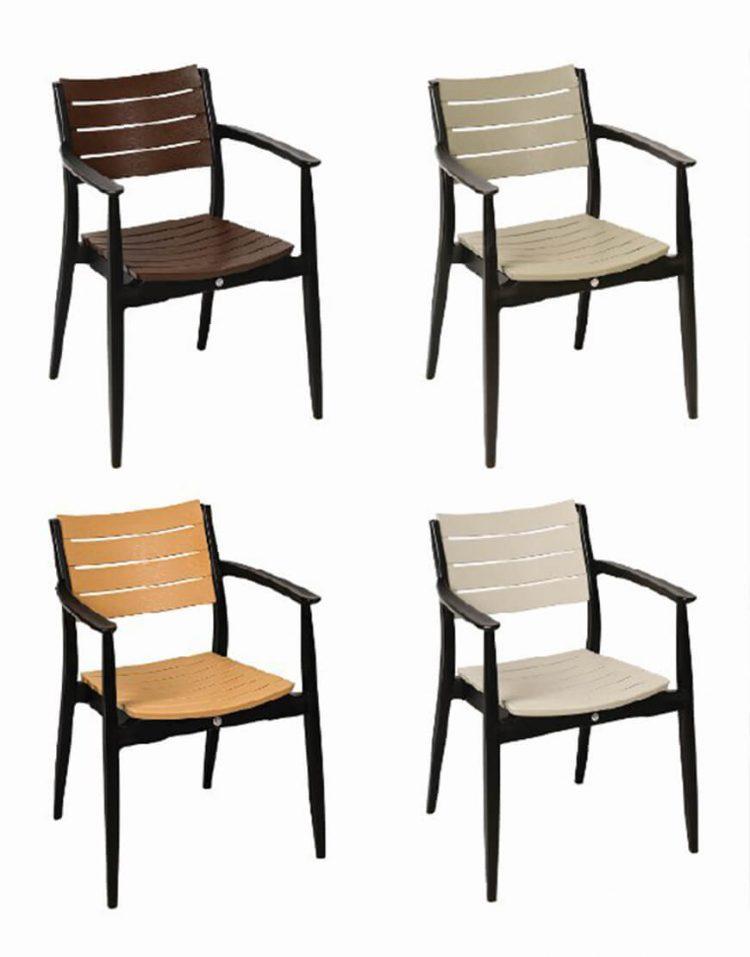 صندلی فضای باز بابل مدل تینا