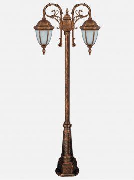 چراغ دوشاخه پارکی بیتانور مدل رومی خمره ای Bi-542313