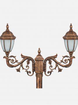 چراغ دوشاخه پارکی بیتانور مدل رومی خمره ای Bi-542423