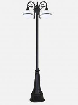 چراغ پارکی دوشاخه بیتانور مدل سها دوبل  Bi-622313