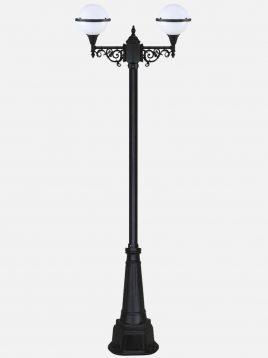 چراغ پارکی دوشاخه بیتانور مدل سها دوبل  Bi-622523