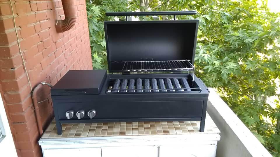 kelargrill no base metal gas grill 0 - باربیکیو گازی بدون پایه کلارگریل -  - gas-grills
