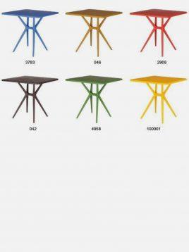 میز پلاستیکی فضای باز بابل مدل تینا
