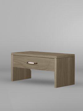 پاتختی چوبی ساده تولیکا مدل پاکان