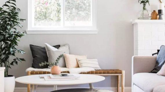 ایدههایی برای تزیین میز جلو مبلی در دکوراسیون خانه مدرن